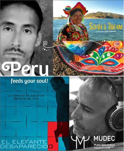 Peru, feeds your soul! Festival del Cinema & della Cultura del Perù al MUDEC