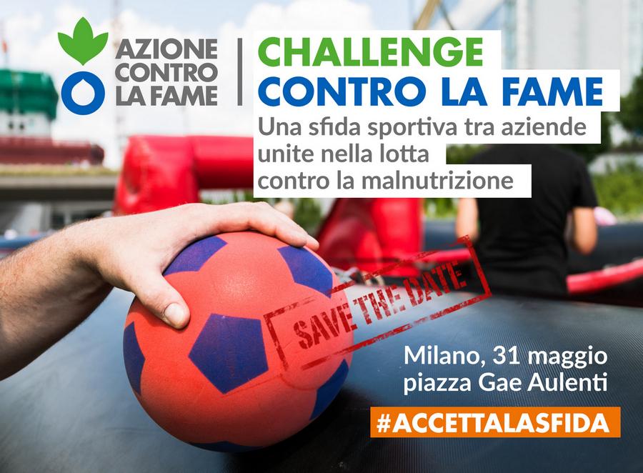 Elior Group Solidarities: Challenge contro la fame 31 maggo Milano